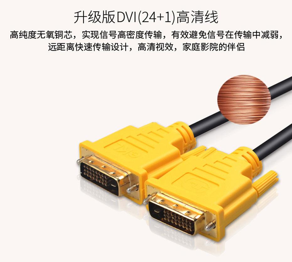 DVI线24+1使用纯铜线芯