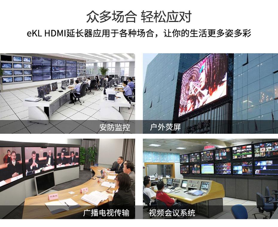 120米HDMI单网线延长器HE120部分应用场景