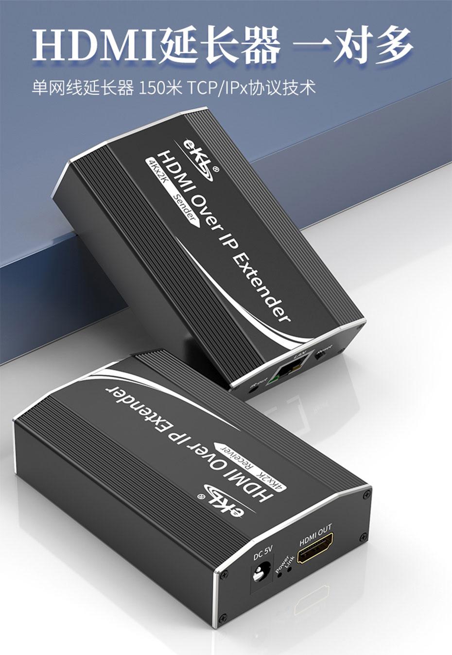 150米HDMI网线延长器1对1/1对多HE200