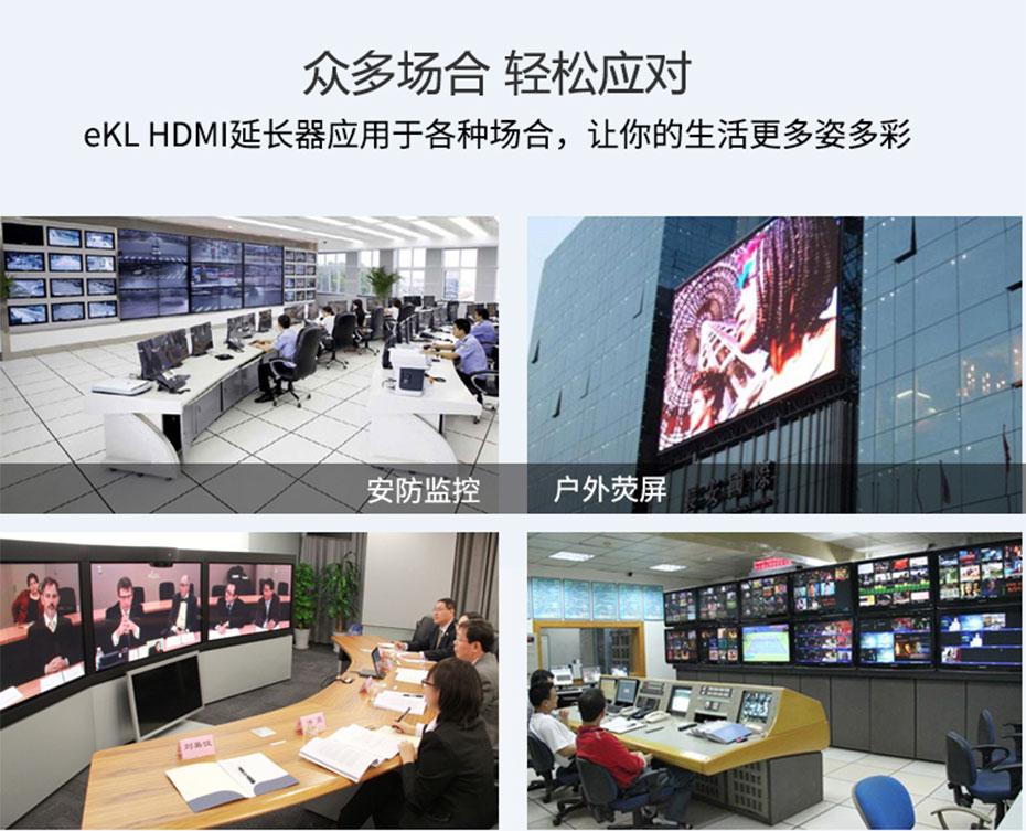 100米HDMI无线延长器WE100部分应用场景