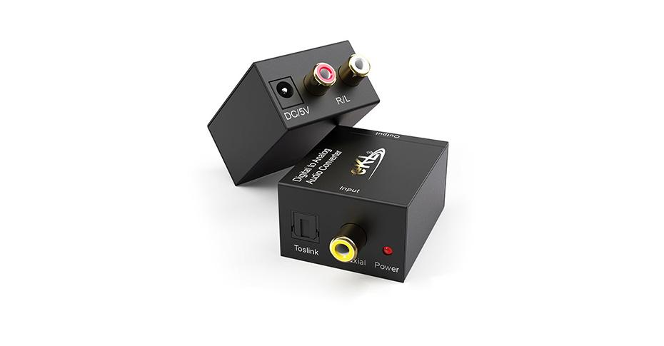 数字光纤同轴转模拟音频转换器DAA