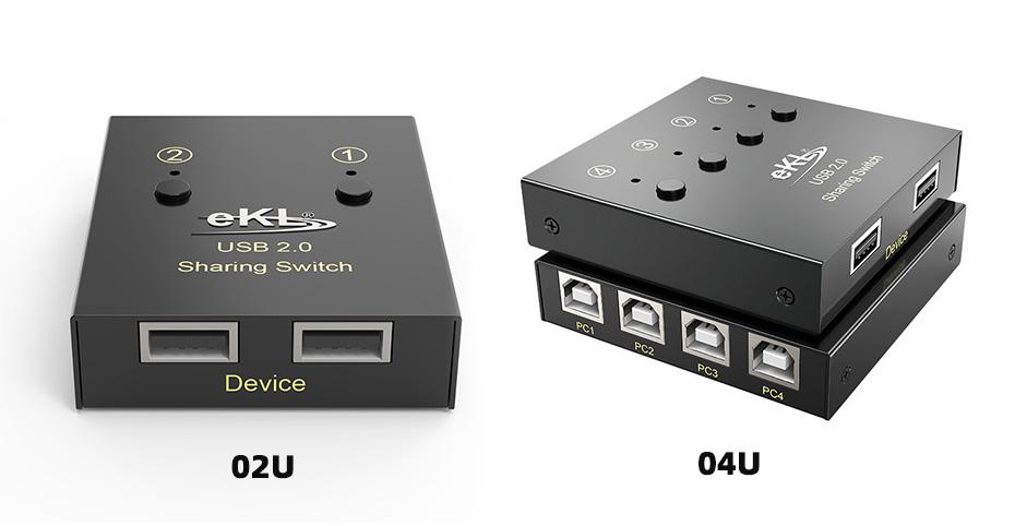 USB打印机共享器02U/04U