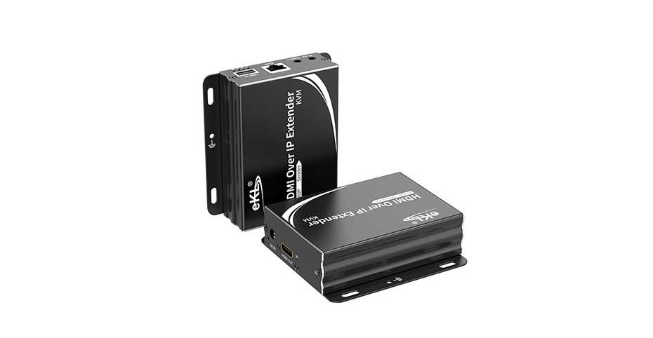 HDMI KVM单网线延长器2021新版HU150实物图