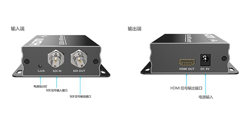 SDI转HDMI转换器接口介绍