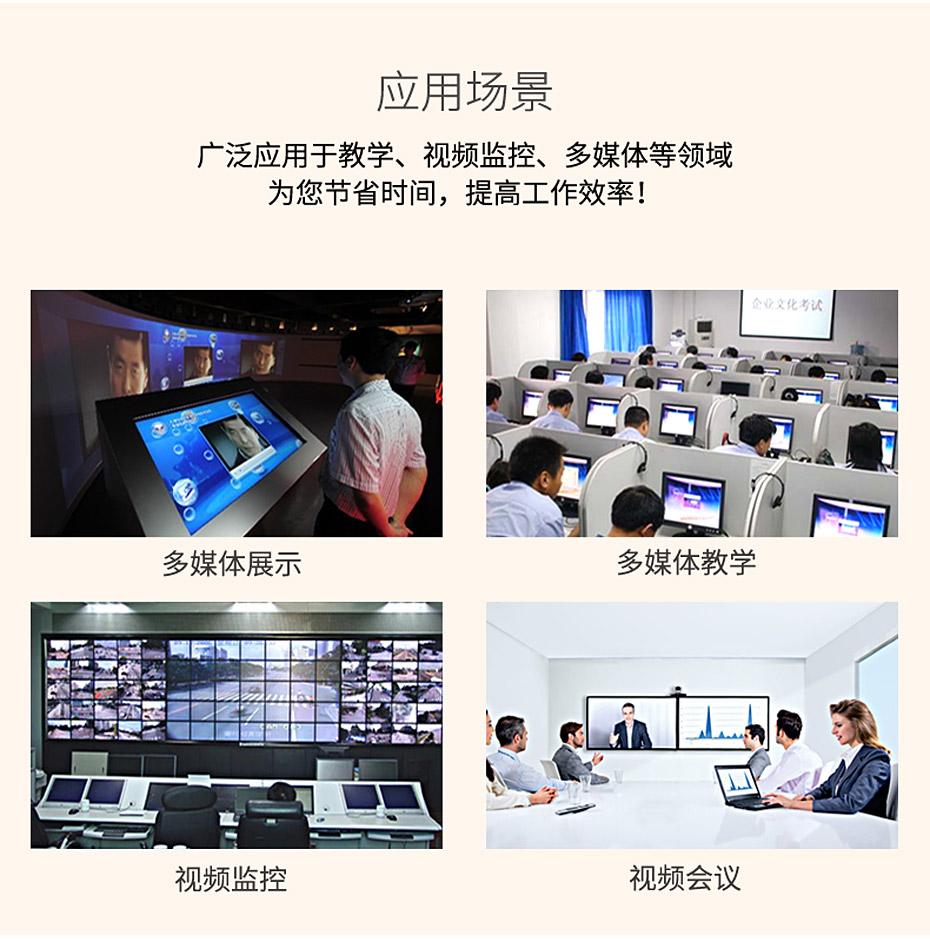 DVI分配器(108D可用于多媒体等应用场景