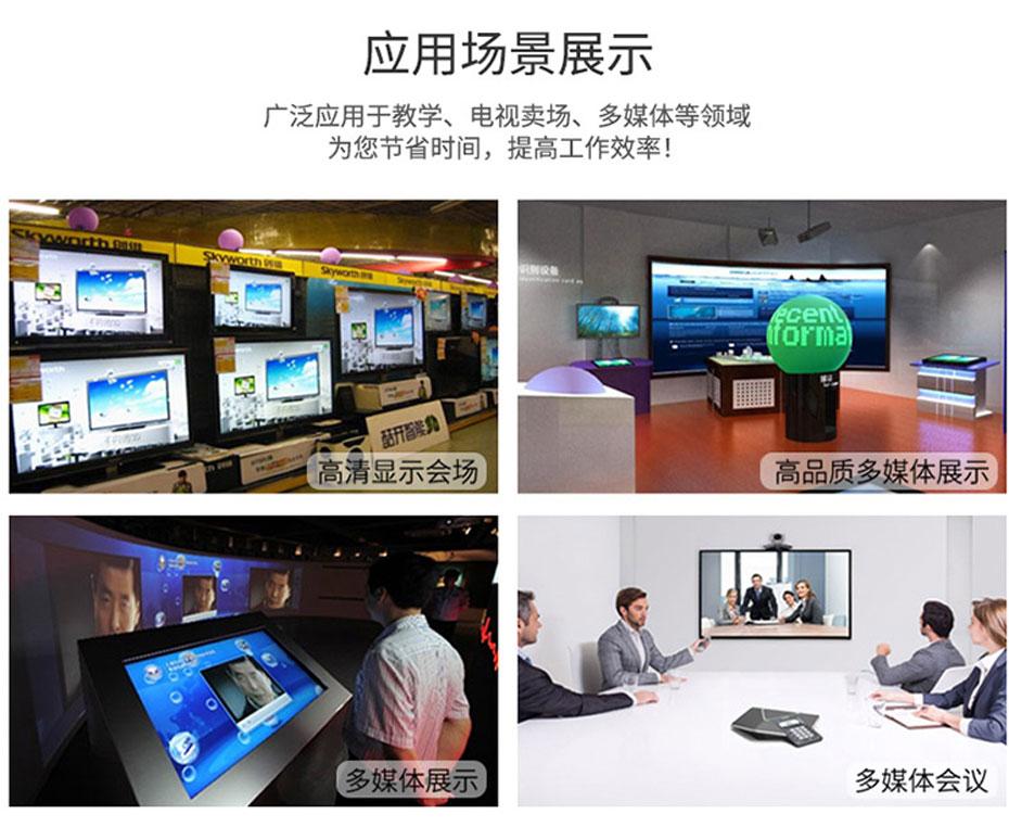 HDMI分配器一分八HD108应用场景