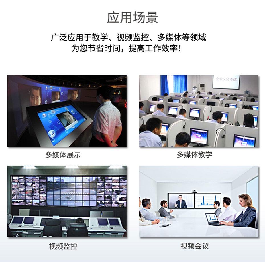SDI分配器一进八出SD108应用场景