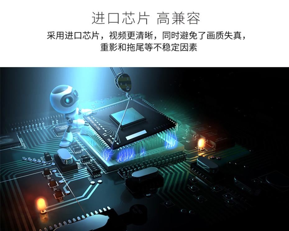 4进2出VGA切换器412R内置进口切换芯片