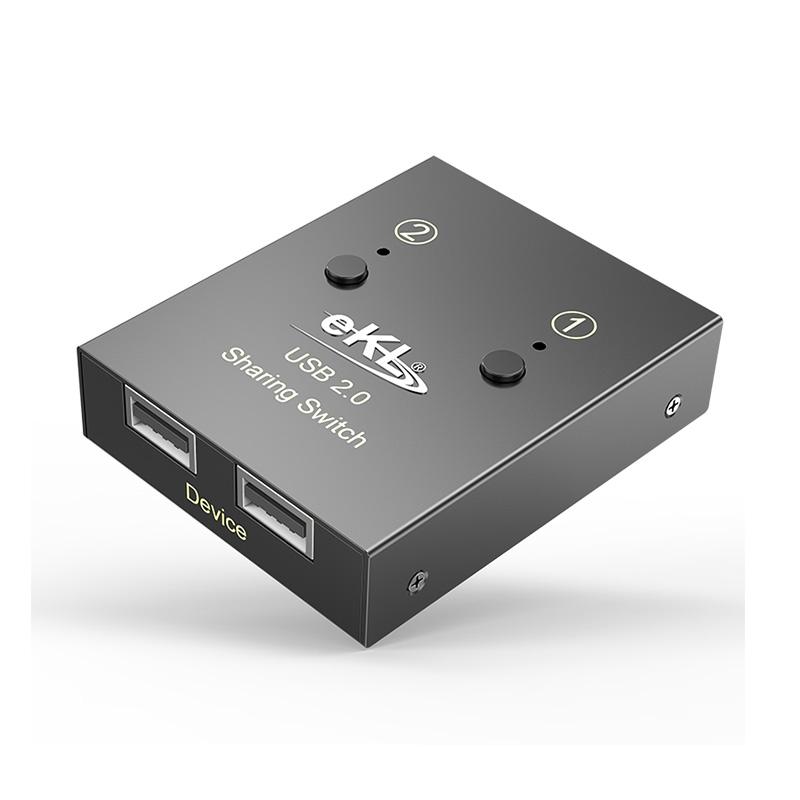 USB打印机共享器2进2出02U