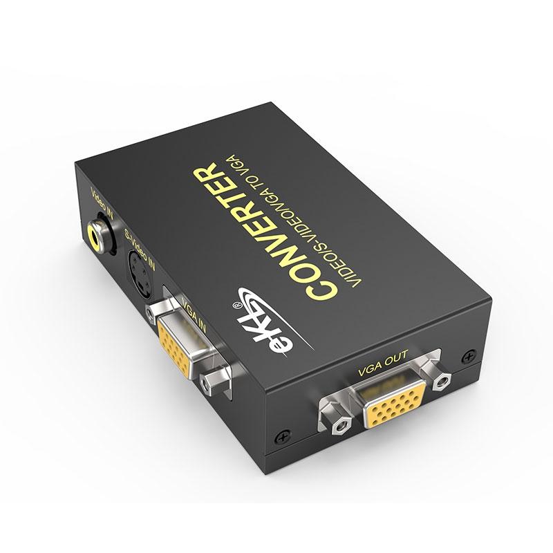 AV/BNC/S-Video转VGA转换器1802