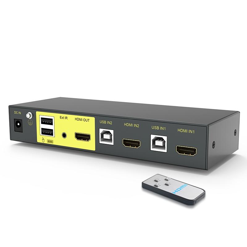 HDMI KVM切换器2进1出21HK