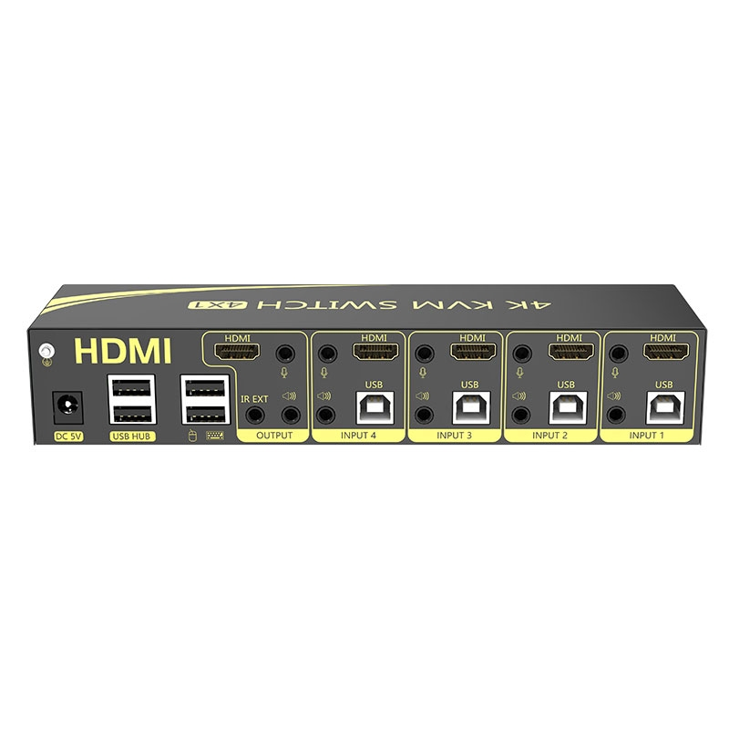 4进1出HDMI KVM切换器41HK2.0