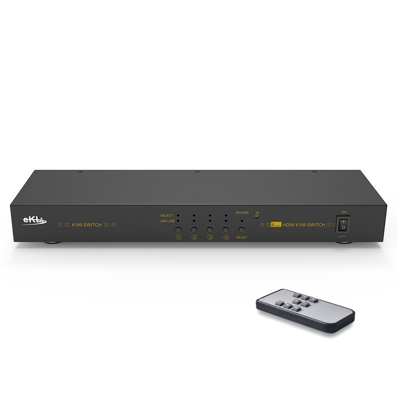 HDMI KVM切换器4进1出41HK