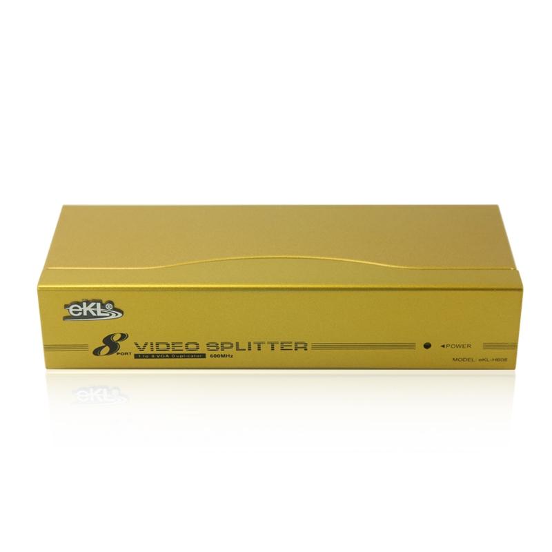 600MHz一进八出VGA高频分配器H608