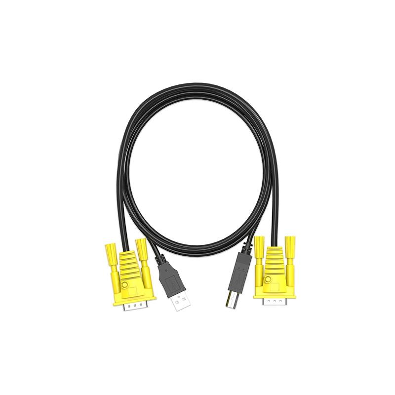 VGA KVM双并线
