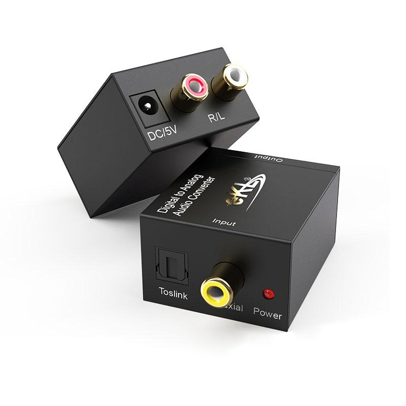 S/PDIF数字光纤同轴转模拟转换器DAA