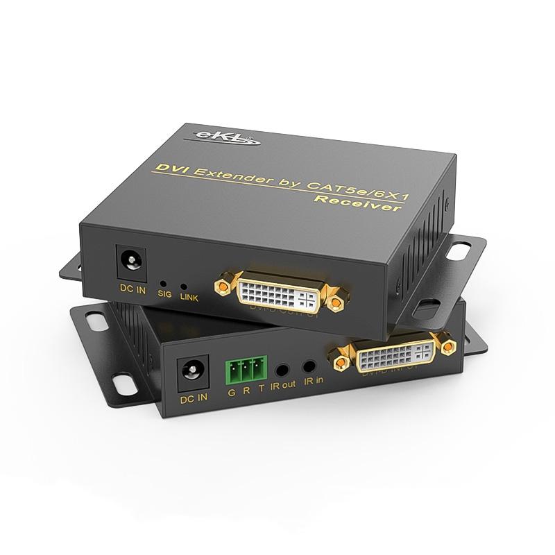 70米DVI单网线延长器DE70