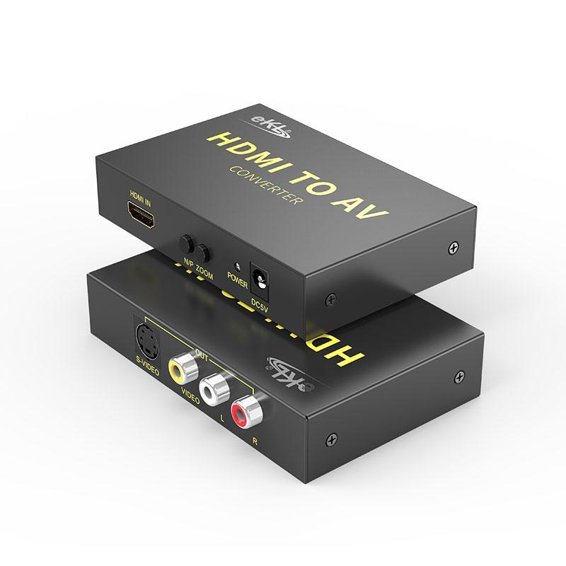 HDMI转AV/S-Video转换器HAV