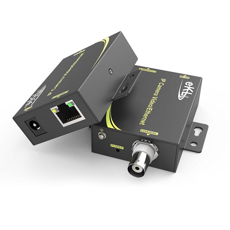 2千米IP高清网络同轴传输器NCR200