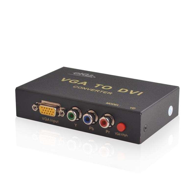 VGA/YPbPr色差转DVI转换器VD